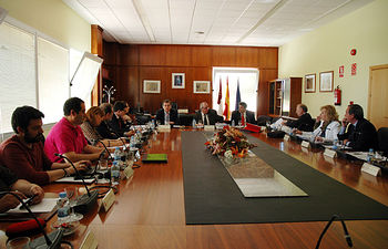 Sesion del Consejo Social celebrada en el campus de Albacete