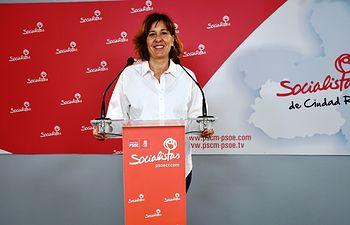 Blanca Fernández, diputada regional del PSOE.