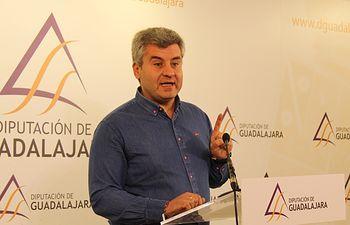 Alfonso Esteban, portavoz del Grupo Popular en la Diputación de Guadalajara.