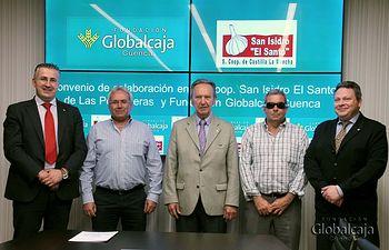 La Fundación Globalcaja Cuenca y la Cooperativa San Isidro el Santo renuevan su colaboración para potenciar el ajo de Las Pedroñeras