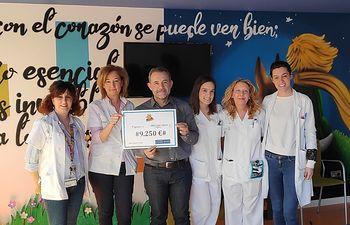 Donación Guachis-AFANION.