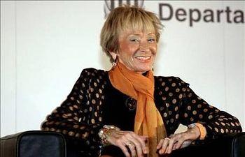 La vicepresidenta primera del Gobierno español, María Teresa Fernández de la Vega. EFE