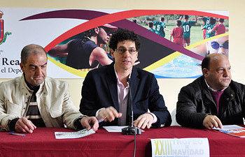 """César Manrique: """"Más de 6.000 personas participarán en las actividades deportivas de la campaña de Navidad"""""""