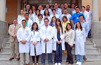 El secretario general del SESCAM, José Antonio del Ama, ha asistido hoy al acto de bienvenida a los nuevos médicos residentes que han iniciado este año su formación como especialistas en el Área Sanitaria de Talavera.