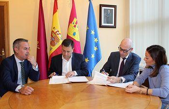 Convenio Ayuntamiento de Albacete y El Corte Inglés