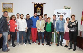Antonio Martínez presentó la lista con la que concurre a la cita electoral de mayo.