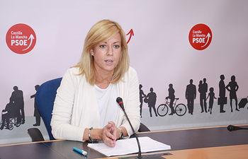 Ana Isabel Abengózar, portavoz del Grupo Parlamentario Socialista.