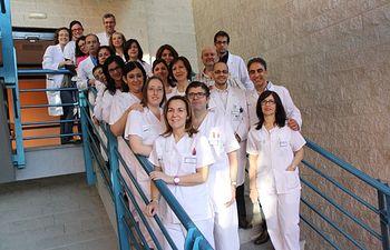 Profesionales de OFT, Mantenimiento y Trasplantes Mancha Centro