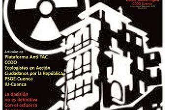 Gaceta Sindical Digital de CCOO Cuenca dedicada a la Concentración contra el ATC