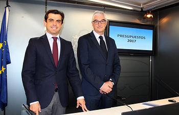 Presentación del borrador de Presupuestos Municipales 2017 del Ayuntamiento de Albacete