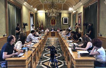 Pleno Ayuntamiento de Cuenca.