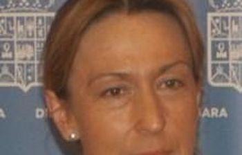 Ana Guarinos, presidenta de la Diputación de Guadalajara.