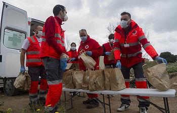 Plan Cruz Roja RESPONDE. Foto: Toni TOMAS