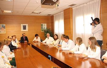 El Hospital Virgen de la Luz de Cuenca realiza los primeros trasplantes de córnea. Foto: JCCM.
