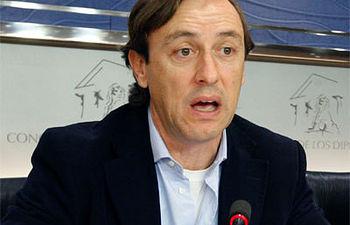 Rafael Hernando - PP - Foto de archivo.