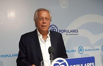 Ramón Aguirre, diputado PP por Guadalajara, vocal en la Comisíón de Presupuestos del Congreso.