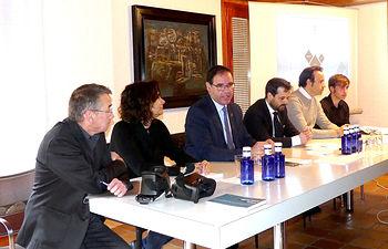 Jornada de Presentación del Sistema de Catalogación del Patrimonio de Cuenca, que ha tenido lugar en la sede del Colegio de Arquitectos de Cuenca