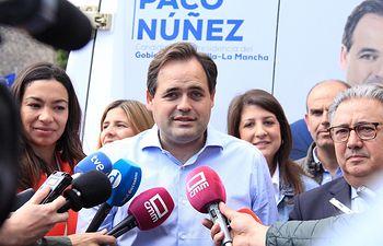 Paco Núñez en Toledo.
