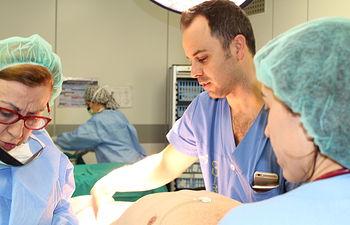 El Hospital de Toledo introduce la cirugía laparoscópica para extirpar tumores malignos de hígado. Foto: JCCM.