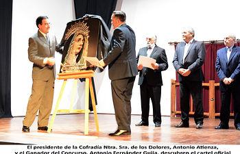 Acto de presentación del Cartel Anunciador de la Semana Santa de El Bonillo