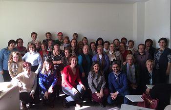 Fotografía- Reunión del Instituto de la Mujer con Asociaciones de la comarca de La Manchuela, en la Primera Junta Coordinadora del presente año, celebrada en Carcelén.