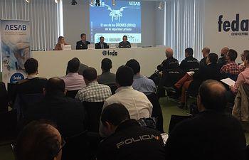 Jornada técnica en FEDA sobre el uso de los drones en la seguridad privada