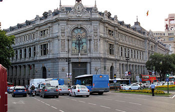 La falta de crédito es uno de los grandes problemas de la crisis. Foto: Edificio del Banco de España en Madrid.
