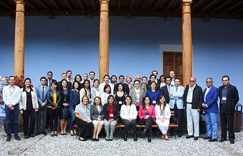 Taller retos financiación climática Guatemala. Foto: Ministerio de Agricultura, Alimentación y Medio Ambiente