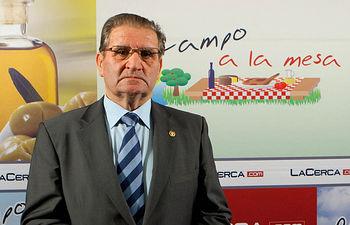 Andrés Gómez Mora, presidente de Caja Rural Castilla La Mancha.