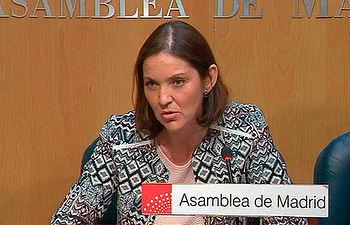Reyes Maroto. Foto: telemadrid.es