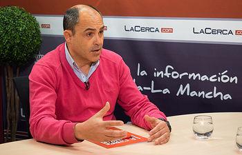 Juan Francisco Arrés, presidente de la Asociación de Empresarios de Caudete, que se integra en FEDA.