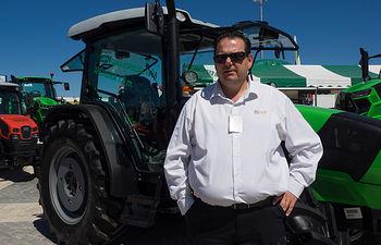 Eliseo Merenciano, responsable del departamento de Ventas de Agrotrac