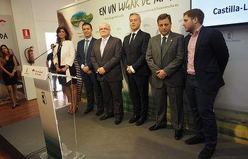 Inaugurado el stand de la JCCM en la Feria de Albacete 2017