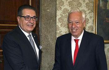 José Manuel García Margallo y Srgjan Kerim (Foto: EFE)