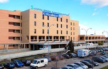 Hospital de Talavera de la Reina. Imagen de archivo.