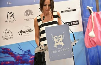 """Presentación de """"MARE"""" la nueva colección de la diseñadora Lola Muñoz."""