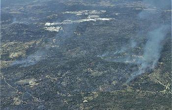 Incendio Almorox - Foto Infocam - 16.09 horas