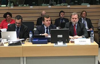 Consejo Ministros Medio Ambiente Union Europea. Foto: Ministerio de Agricultura, Alimentación y Medio Ambiente