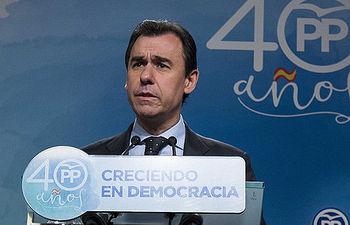 El coordinador general del Partido Popular, Fernando Martínez Maíllo
