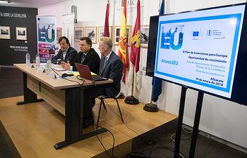 """Seminario \""""El Plan de Inversiones para Europa - Una oportunidad de crecimiento para Castilla-La Mancha\"""""""