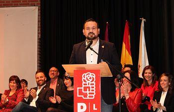 La Casa de la Cultura acogió la presentación de la candidatura municipal socialista de La Roda