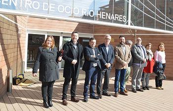 Foto de familia del Consejo de Gobierno. Fotografía: Álvaro Díaz Villamil / Ayuntamiento de Azuqueca