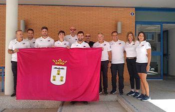 Despedida de los participantes en los Juegos Mundiales de Policías y Bomberos.
