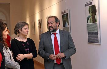 """Exposición """"Mujer y Ciencia: 13 nombres para cambiar el mundo"""". Foto: JCCM."""