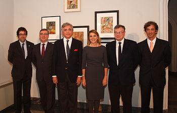 Cospedal asiste a la inauguración de la exposición 'Esteban Lisa. Retornos'. Foto: JCCM.