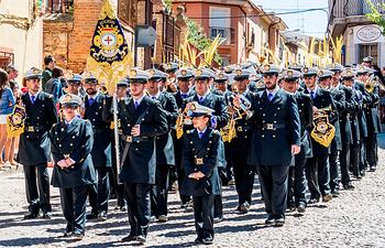 Banda de Cornetas y Tambores de Nuestro Padre Jesús Rescatado de La Solana (Ciudad Real).