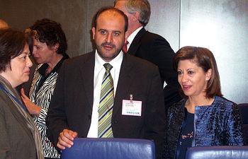 El consejero de Agricultura y Desarrollo Rural, José Luis Martínez Guijarro asistió en Luxemburgo, a la reunión del Consejo de Ministros de Agricultura de la Unión Europea acompañando a la ministra de Medio Ambiente, Medio Rural y Marino, Elena Espinosa.