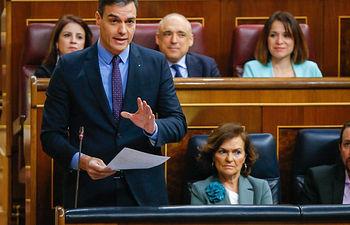 Presidente del Gobierno, Pedro Sánchez.