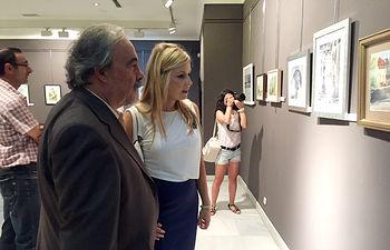 La consejera de Fomento asiste a la inauguración de las exposiciones de Ferias de Guadalajara.