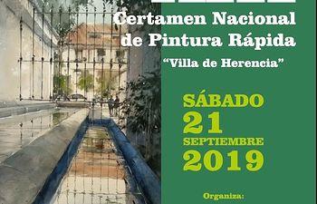 "Certamen nacional de Pintura ""Villa de Herencia""."